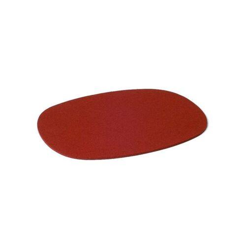 SiGN Hey-Sign Tischset oval - 4 Stk. 11 rot