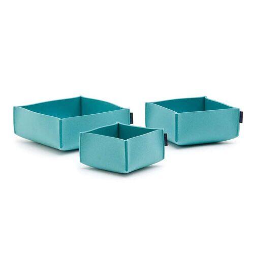 SiGN Hey-Sign Box Set 3 Aufbewahrungsboxen (3er Set) 50 aqua