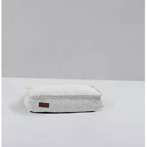 SACKit Dog Bed Hundekissen 59 x 40cm weiß