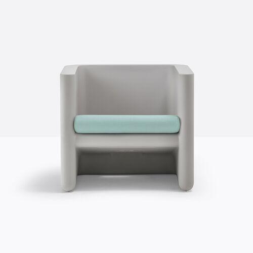 Pedrali Sunset Sitzpolster für Sessel Sitzkissen grau