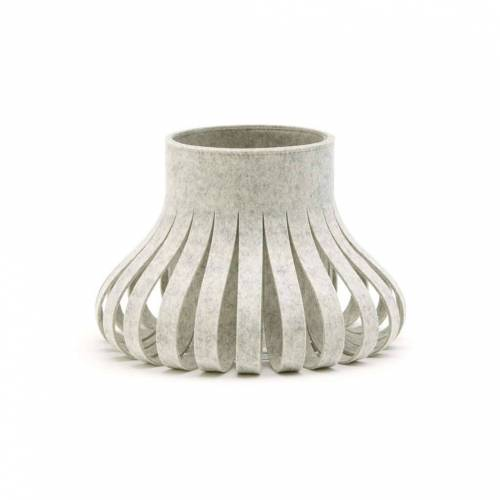 SiGN Hey-Sign Alva Vase 35 taupe