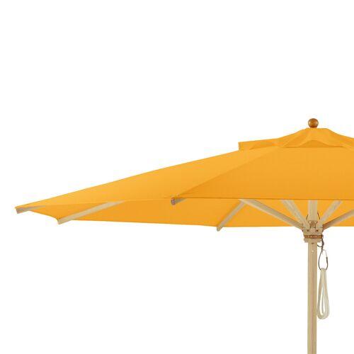 Weishäupl Klassiker und Teak Schirm Ersatzbespannung für Schirm Ø 300cm gelb