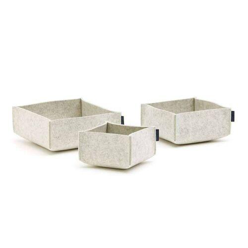 SiGN Hey-Sign Box Set 3 Aufbewahrungsboxen (3er Set) 06 marmor