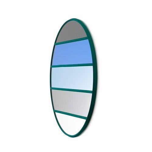 Magis Vitrail Spiegel rund grün