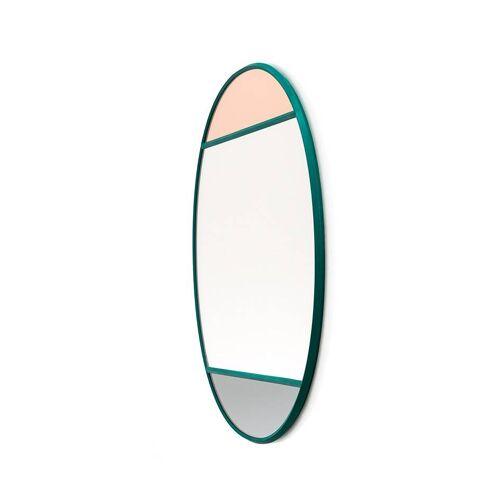 Magis Vitrail Spiegel oval grün