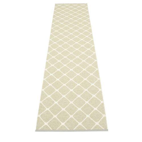 pappelina Rex Outdoor-Teppich - seegras / vanille 70 x 335cm