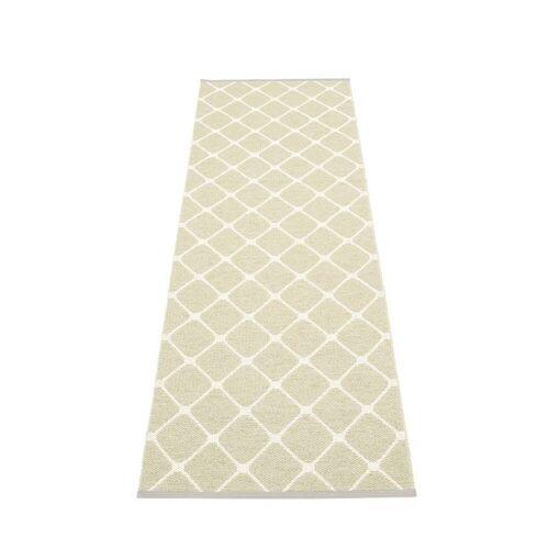 pappelina Rex Outdoor-Teppich - seegras / vanille 70 x 240cm