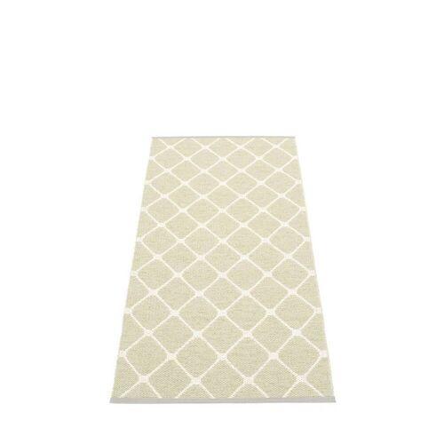 pappelina Rex Outdoor-Teppich - seegras / vanille 70 x 160cm