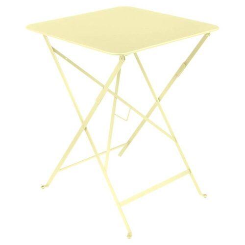 Fermob Bistro 57 x 57 Tisch zitronensorbet