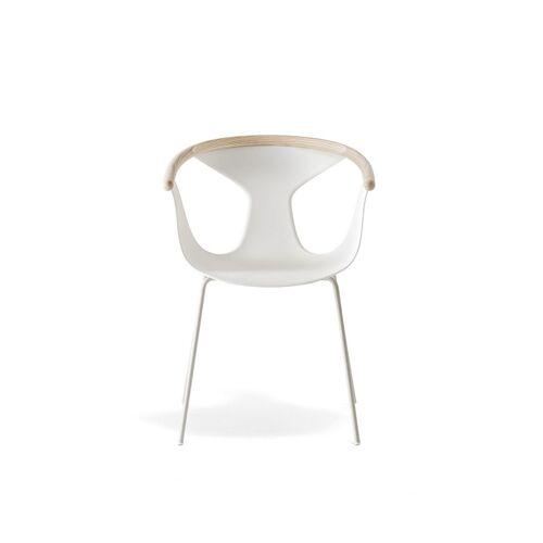 Pedrali Fox 3726 Stuhl beige weiß