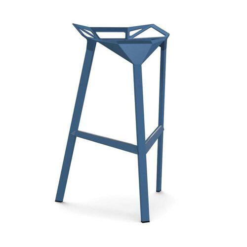 Magis Stool One Barhocker H 77cm blau
