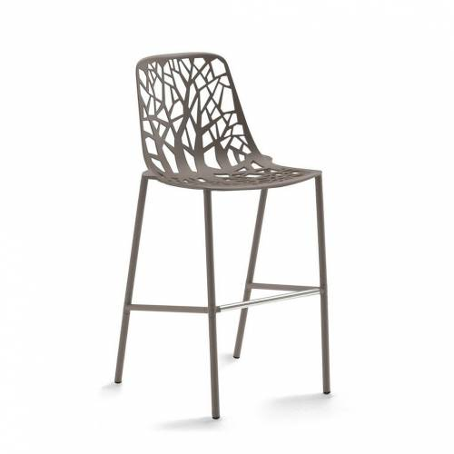 Fast Forest Outdoor Barhocker, H 65cm taupe