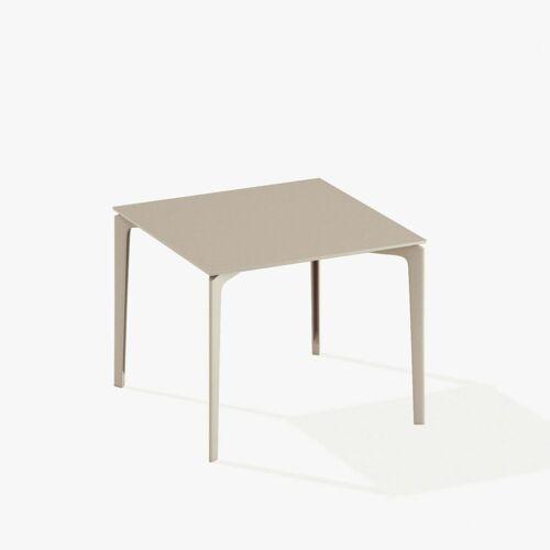 Fast AllSize Tisch 90 x 90cm taupe
