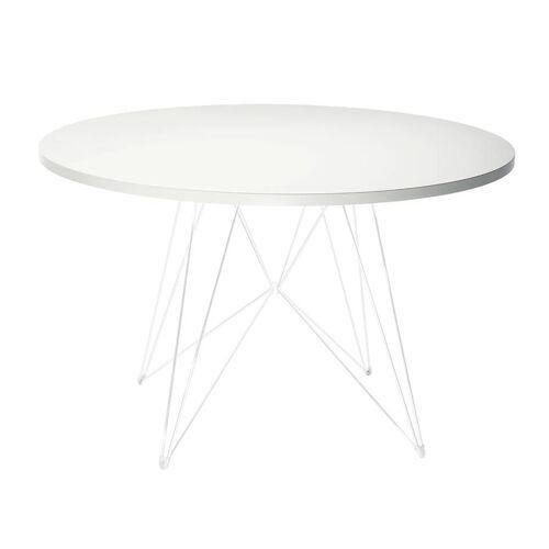 Magis XZ3 Tisch Ø 120cm weiß weiß