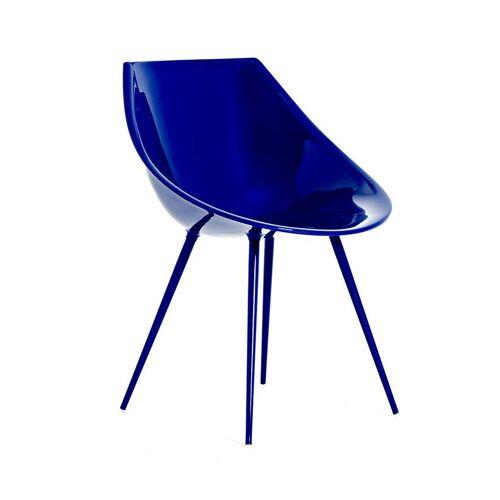Driade Lago Stuhl Kunststoff ultramarinblau