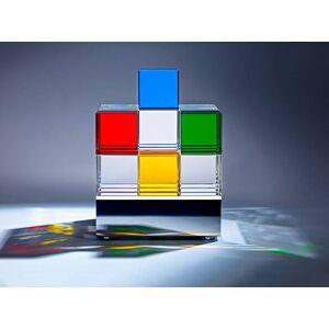 Tecnolumen Cubelight MSCL1 / MSCL2 Tischleuchte MSCL 2 (10 klare, 4 rosa und 4 schwarze Würfel)