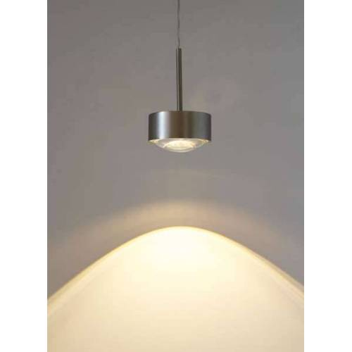 Top Light Puk Maxx Long One Halogen Pendelleuchte chrom Linse klar