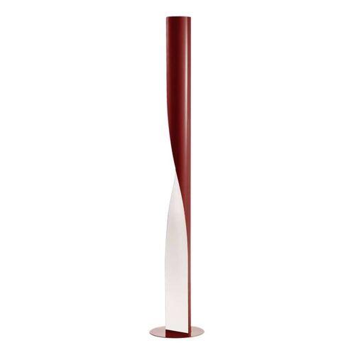 Kundalini Evita Stehleuchte rot Leuchtstoffröhre