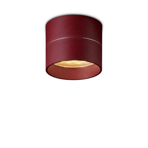 Oligo Tudor Deckenleuchte rot L 9,5cm