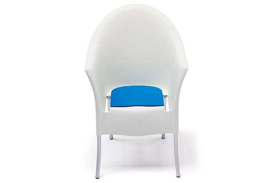 SiGN Hey-Sign Sitzauflage für Lord Yo Stuhl von Driade 4 Stk 5 mm Wunschfarbe im Bemerkungsfeld angeben