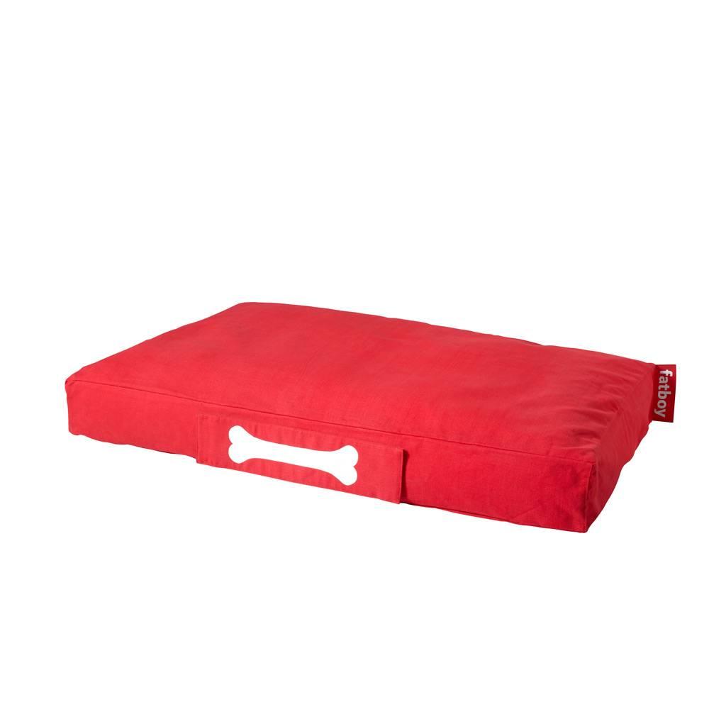 Fatboy Doggielounge Stonewashed Hundebett groß (120 x 80cm) rot