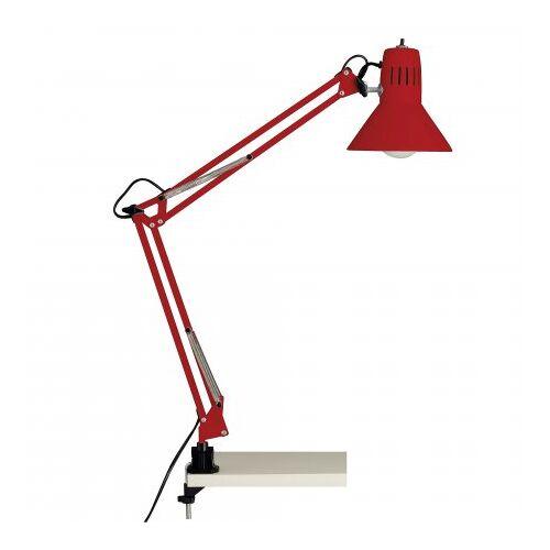 Brilliant Leuchten No. 10802-01 Schreibtischklemmleuchte Hobby E27 rot
