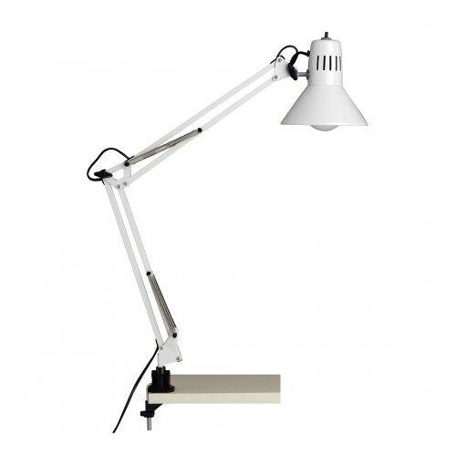Brilliant Leuchten No. 10802-05 Schreibtischklemmleuchte Hobby E27 weiß