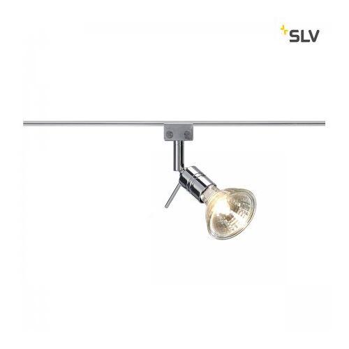 SLV Leuchten & Lampen SLV No. 186272 Solo 90° Lampenkopf für GLU-TRAX chrom MR16 max. 35W schwenkbar