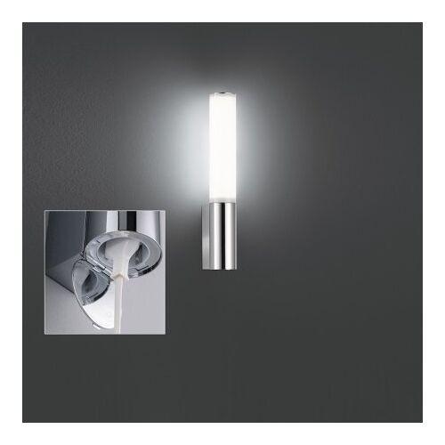 Honsel Leuchten No. 30125 LED Wandleuchte Baabe chrom IP44 Steckdose