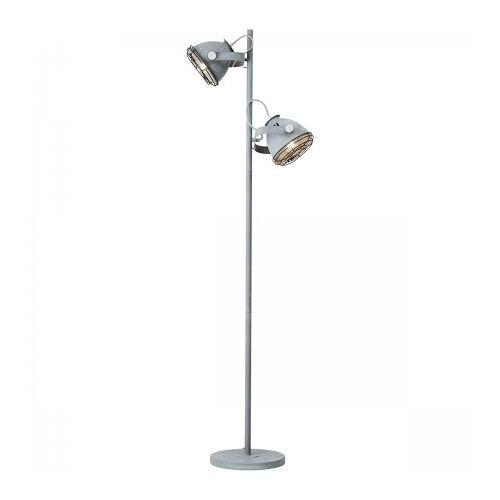 Brilliant Leuchten No. 98942-70 Stehleuchte Carmen Grill grau Beton 161 cm