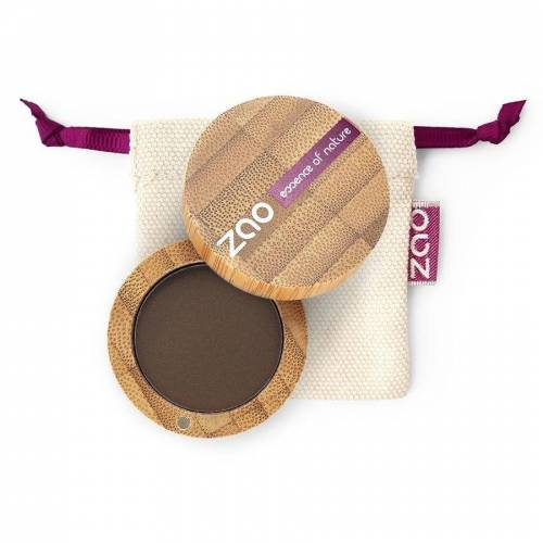 ZAO essence of nature Matten Lidschatten 203 Dark Brown