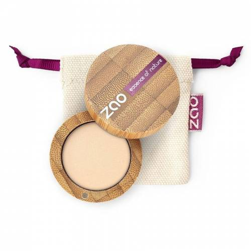 ZAO essence of nature Matten Lidschatten 201 Ivory