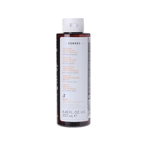 Korres Shampoo Sunflower & Mountain Tea für coloriertes Haar