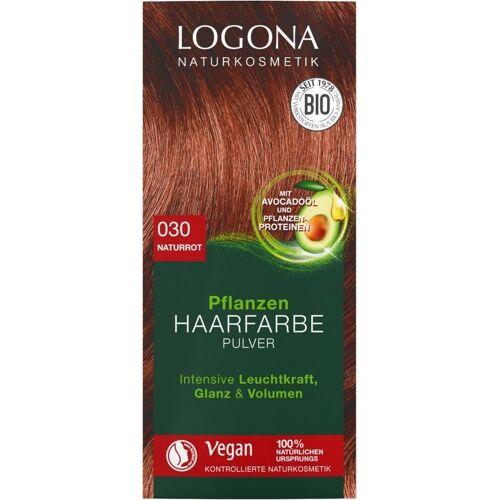 Logona Pflanzen-Haarfarbe Pulver 030 naturrot
