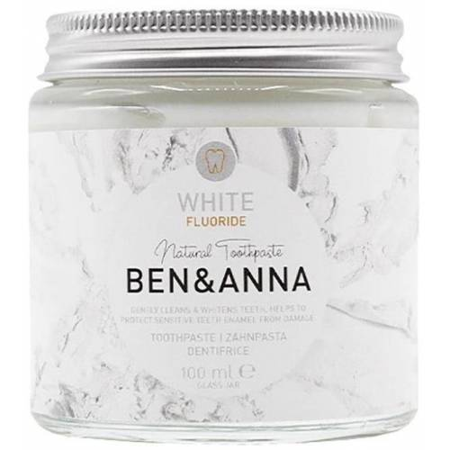 Ben & Anna Toothpaste White with Flouride