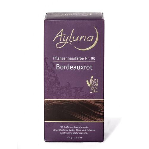 Ayluna Haarfarbe Bordeauxrot