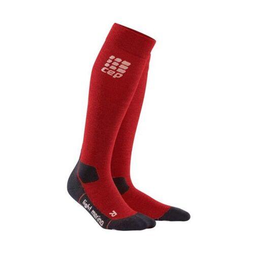 CEP Outdoor Light Merino Socks CEP pro+ outdoor light merino socks, lava stone, women IV