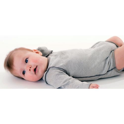 BINAMED® - Neurodermitis Kratzschutz Baby-Body, Langarm 62/68