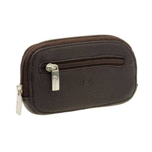 b47bb271d5a634 Geldbeutel Esquire Deer, Schlüsseletui aus Hirschleder 3961-09 Braun. Sehr  weiches Leder