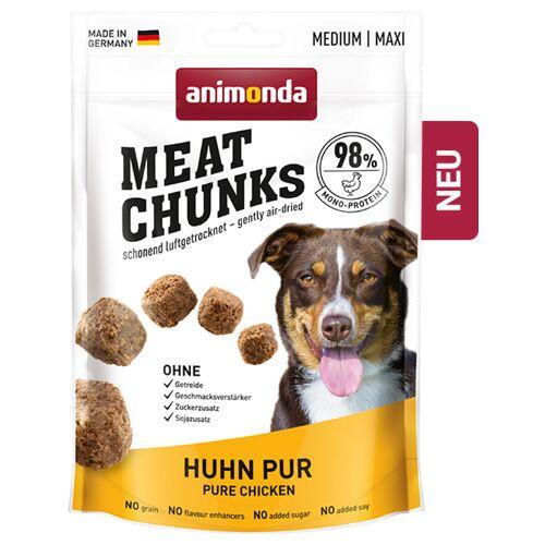 Animonda (28,73 EUR/kg) Animonda Meat Chunks Huhn pur 80 g - 6 Stück
