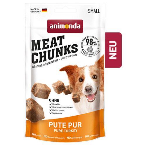 Animonda (31,85 EUR/kg) Animonda Meat Chunks Pute pur 60 g - 8 Stück