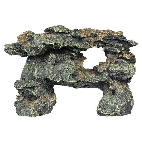 Aqua Della Aquariumdekoration Schiefer-Gestein, Größe: M