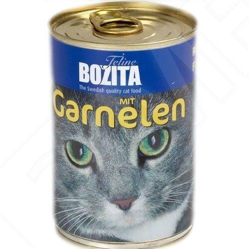 Bozita (3,17 EUR/kg) Bozita mit Garnelen 410 g - 20 Stück