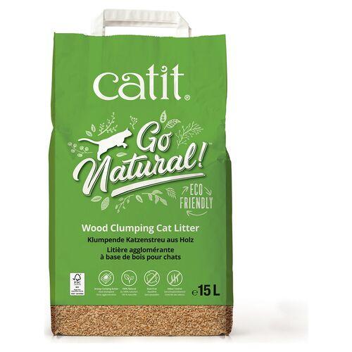 Catit (0,99 EUR/l) Catit Go Natural Katzenstreu 15 l