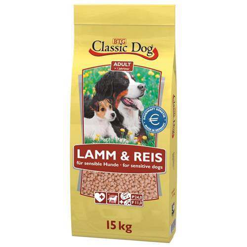 Classic Dog (1,83 EUR/kg) Classic Dog Classic Lamm & Reis 15 kg