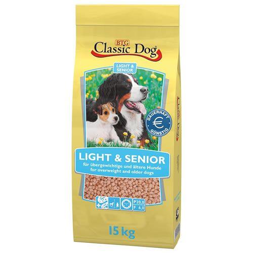 Classic Dog (1,56 EUR/kg) Classic Dog Classic Light & Senior 15 kg