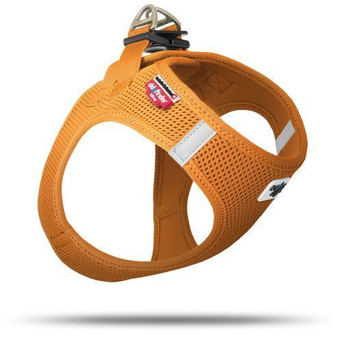 Curli Vest Geschirr Air-Mesh orange, Größe: XS
