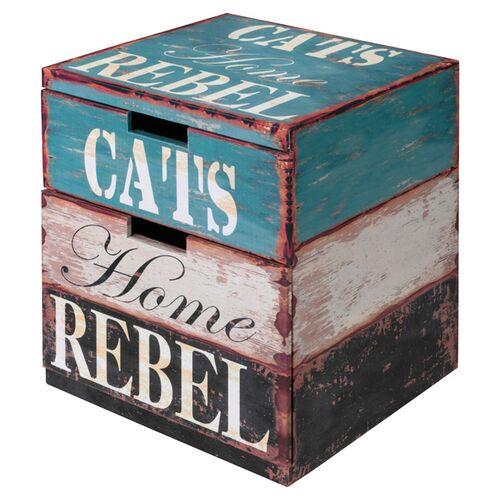 D&D Katzenhaus Catbox Rebel