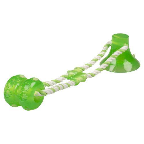 Duvo+ Hundespielzeug Tug n Chew grün