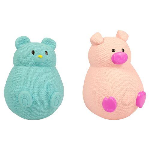 Duvo+ Hundespielzeug Tumbler Bear/Pig Latex